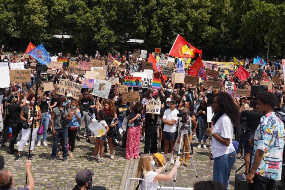 Große Anti-Rassismus-Demo auf dem Wasen: Polizei zufrieden mit Ablauf