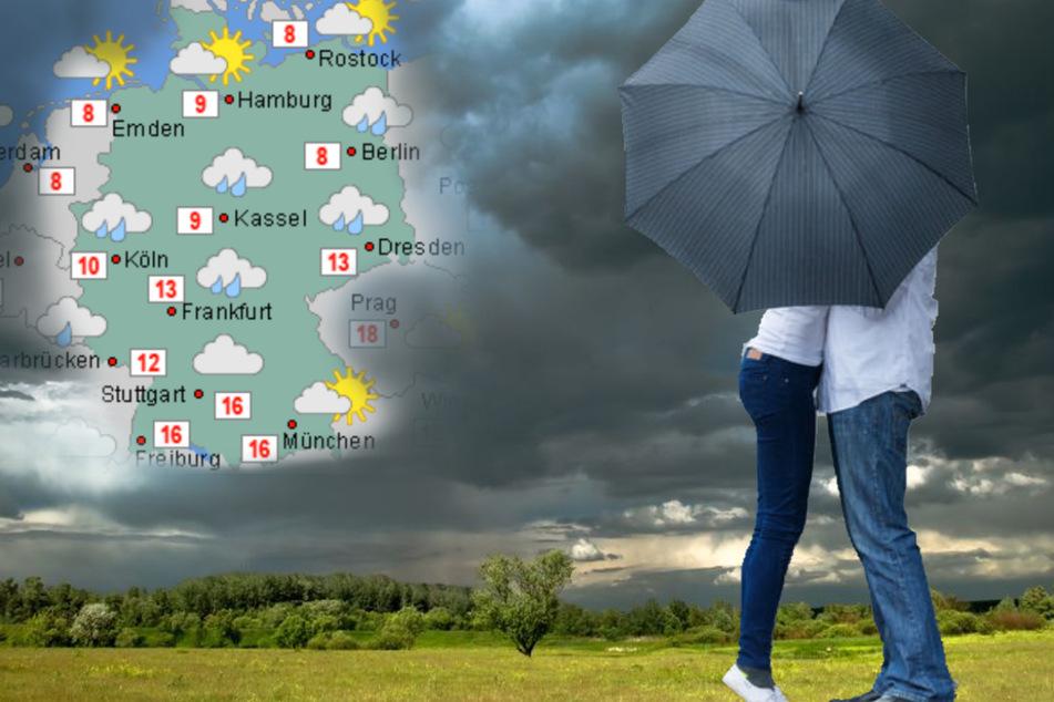 Regen, Schnee und Sonne im Wechsel: Wird das Wetter die nächsten Tage endlich beständig?