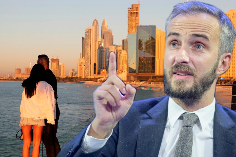 So knöpft sich Jan Böhmermann deutsche Influencer in Dubai vor