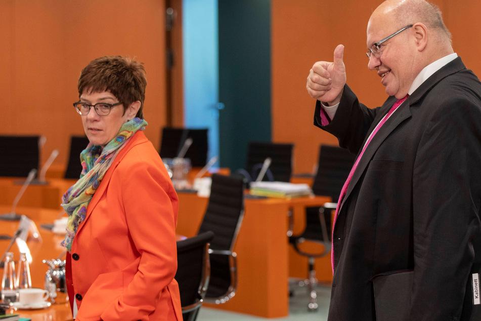 Doppel-Rückzug bei der CDU: Altmaier und AKK verzichten auf Bundestagsmandat