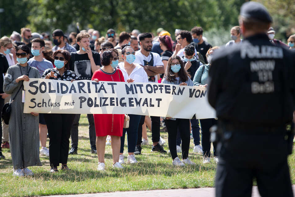 Demo gegen Polizeigewalt: Deutlich weniger Andrang als erwartet