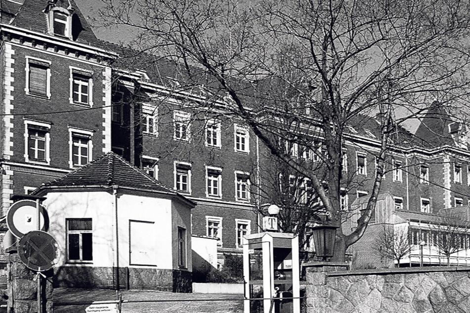 Das ehemalige Meißner Krankenhaus. War es Tatort für den organisierten Raub eines Neugeborenen?