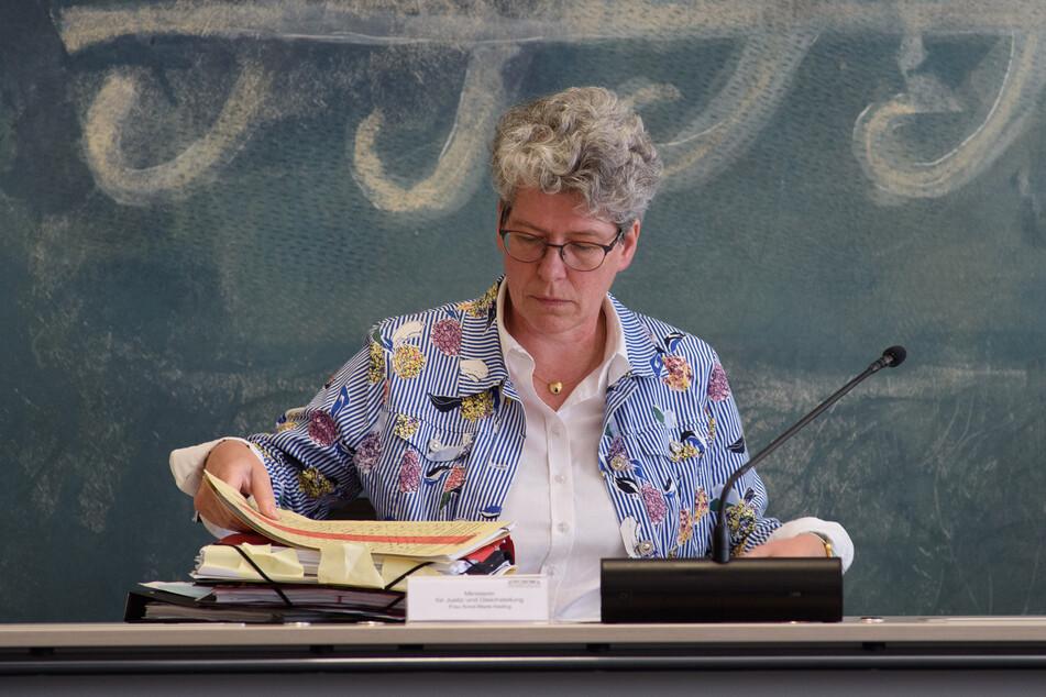 Justizministerin Anne-Marie Keding (CDU) gerät wieder in die Kritik.