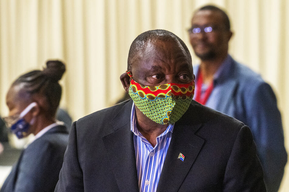 Südafrikas Präsident Cyril Ramaphosa wandte sich am Mittwochabend in einer TV-Rede bezüglich des Coronavirus an die Nation.