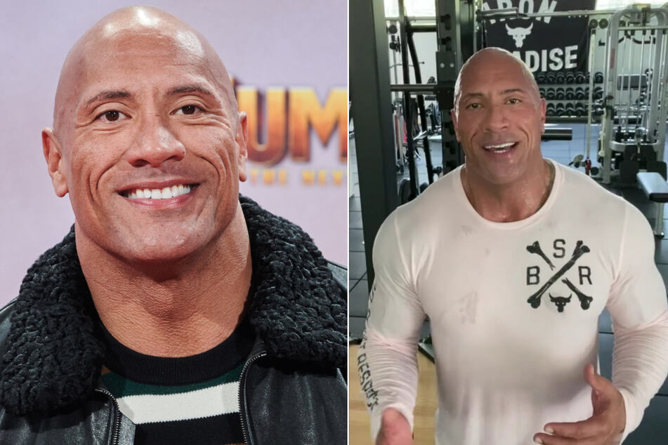 """Dwayne """"The Rock"""" Johnson: Geständnis in der Corona-Krise"""