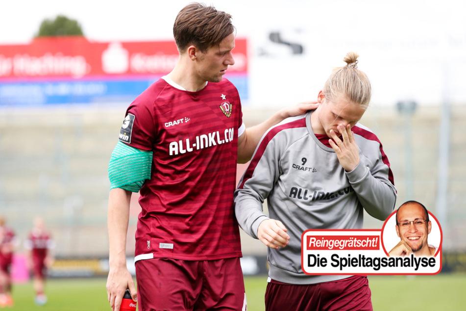 TAG24-Fußballredakteur Stefan Bröhl beschäftigt sich in seiner wöchentlichen Kolumne diesmal unter anderem mit Dynamo Dresdens Torkrise.