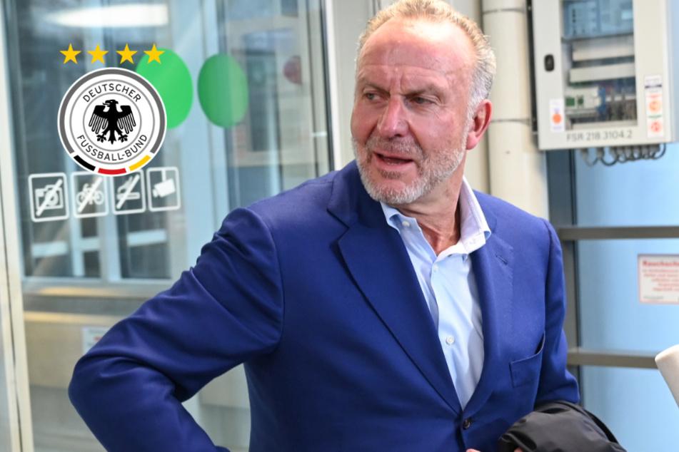 DFB-Team? Bayern-Boss Karl-Heinz Rummenigge spricht Klartext