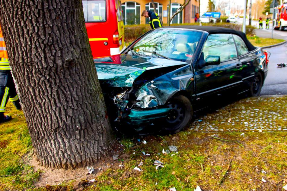 Der mutmaßliche Unfallverursacher soll unter dem Einfluss von Betäubungsmitteln gestanden haben.