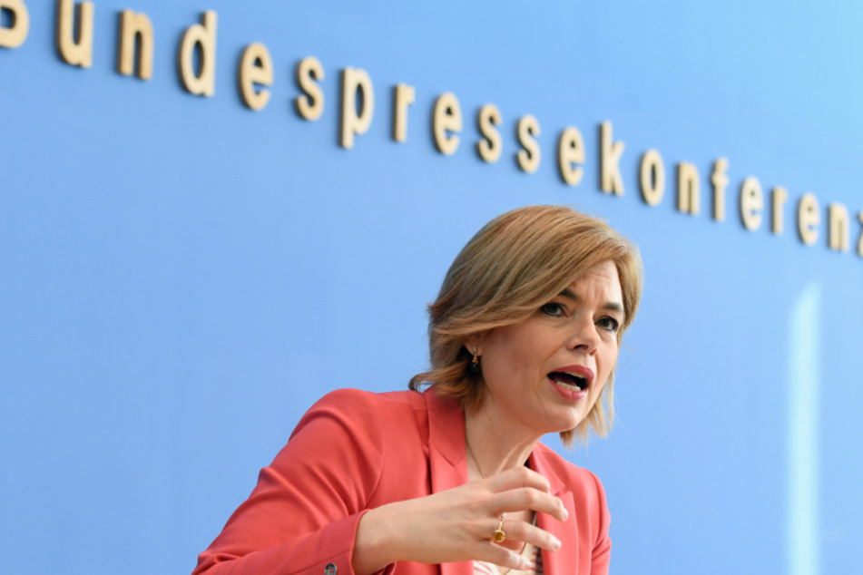 Julia Klöckner (CDU), Bundeslandwirtschaftsministerin.