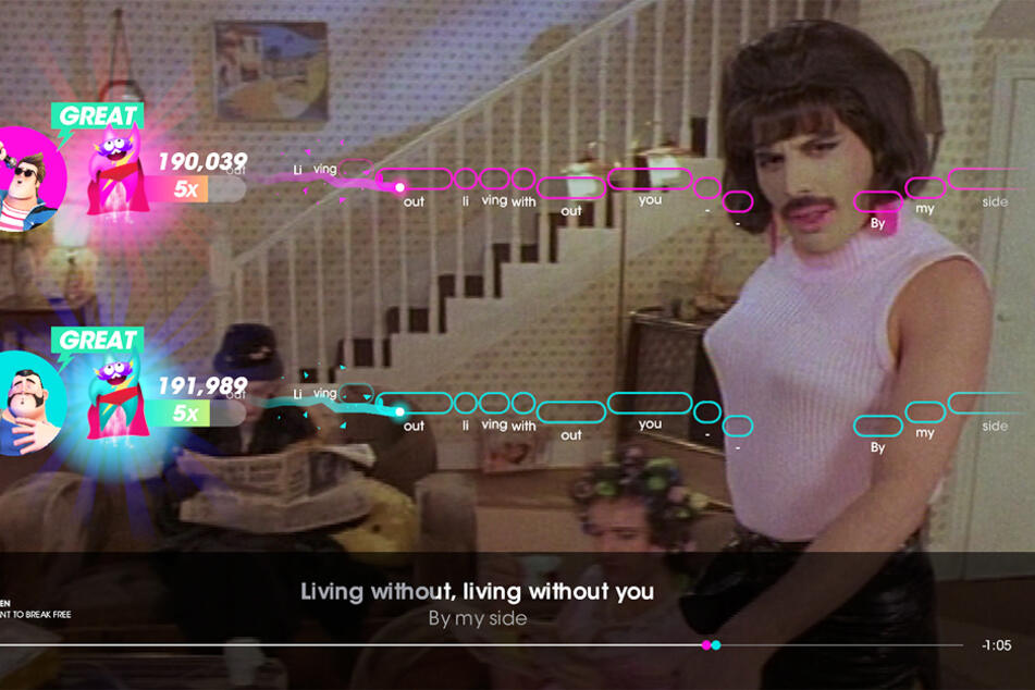 """""""I want to break free"""": Queen-Fans können sich am 2. Oktober auf die Spuren von Freddy Mercury begeben."""