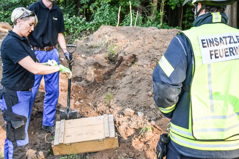 Phosphor-Bomben bei Reitstall gefunden