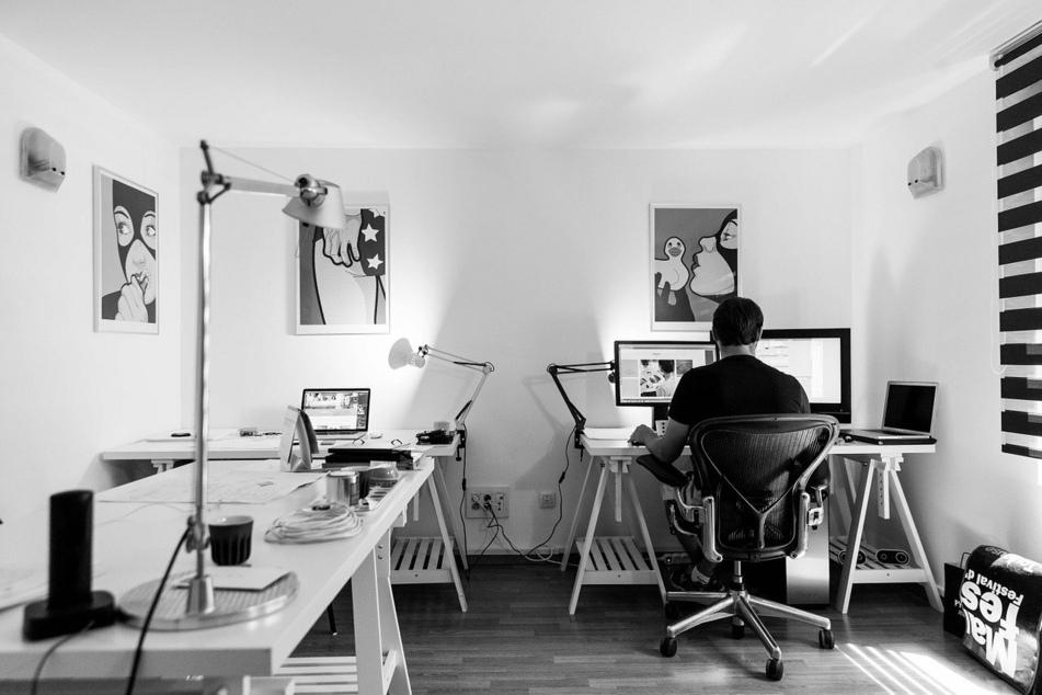 Home Office: für viele eine schöne Lösung.