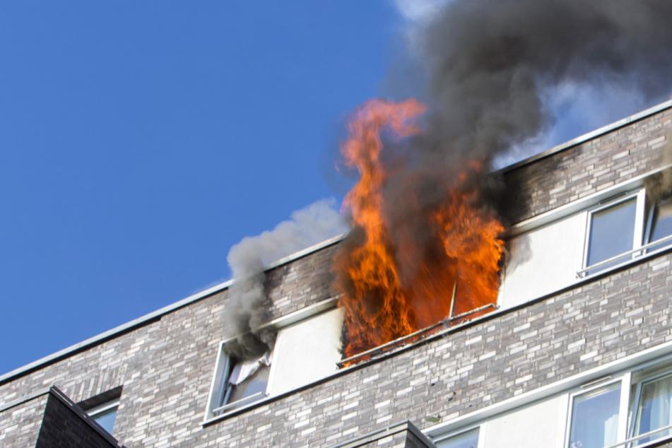 Junge wird bei Wohnungsbrand in Hamburg zum Lebensretter