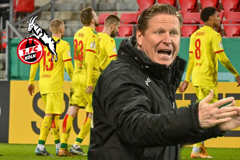 1. FC Köln droht nach dramatischem Pokal-Aus der nächste Rückschlag