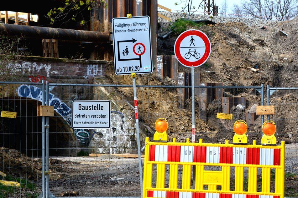 Der prächtige, baugeschichtlich bedeutsame Rundbogentunnel von 1878 stand eigentlich unter Denkmalschutz.