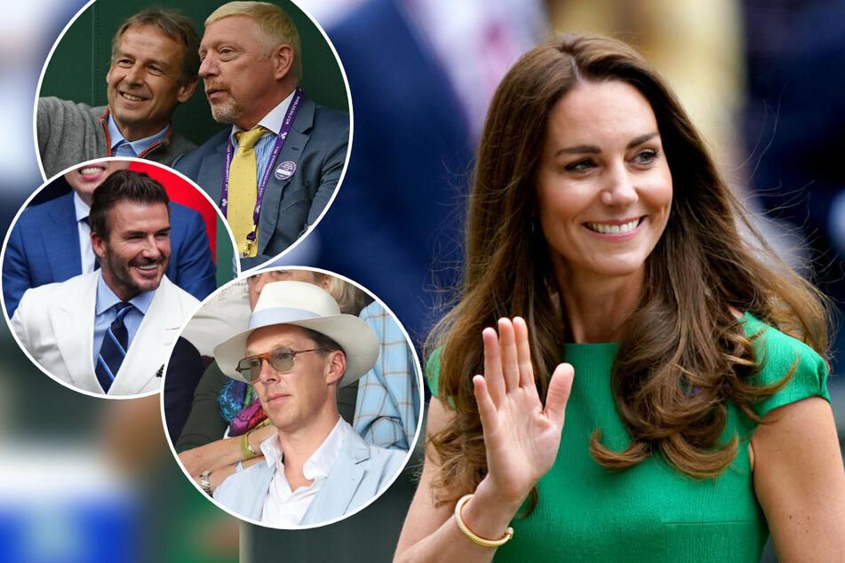 Spiel, Satz, Style: So kamen Herzogin Kate, Tom Cruise und Co. zum Tennis-Finale!