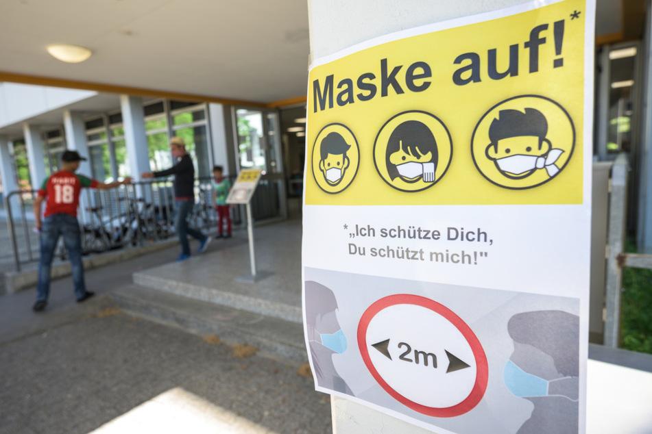 In Rheinland-Pfalz gilt die Maskenpflicht an Schulen bereits.