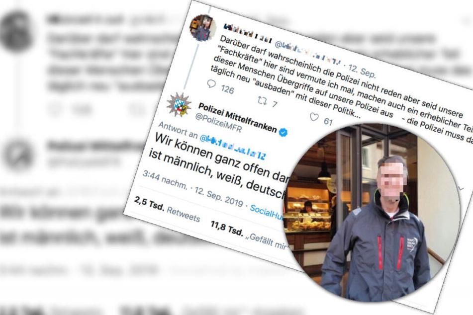 Twitter-User hetzt gegen Ausländer, Polizei serviert ihn eiskalt ab