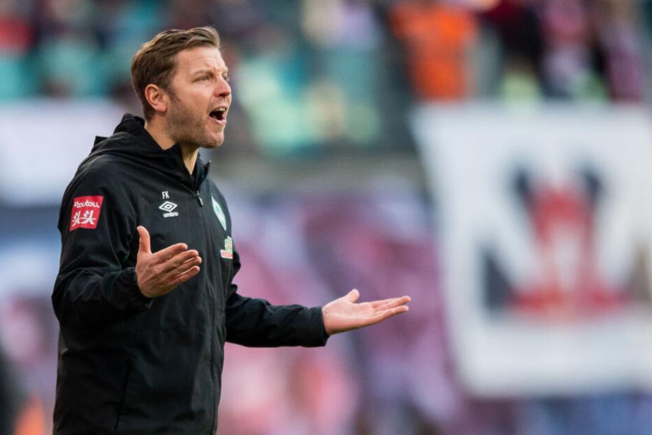 Verpasste den Befreiungsschlag: Werders derzeit glückloser aber mit Rückendeckung ausgestatteter Coach Florian Kohfeldt (37).