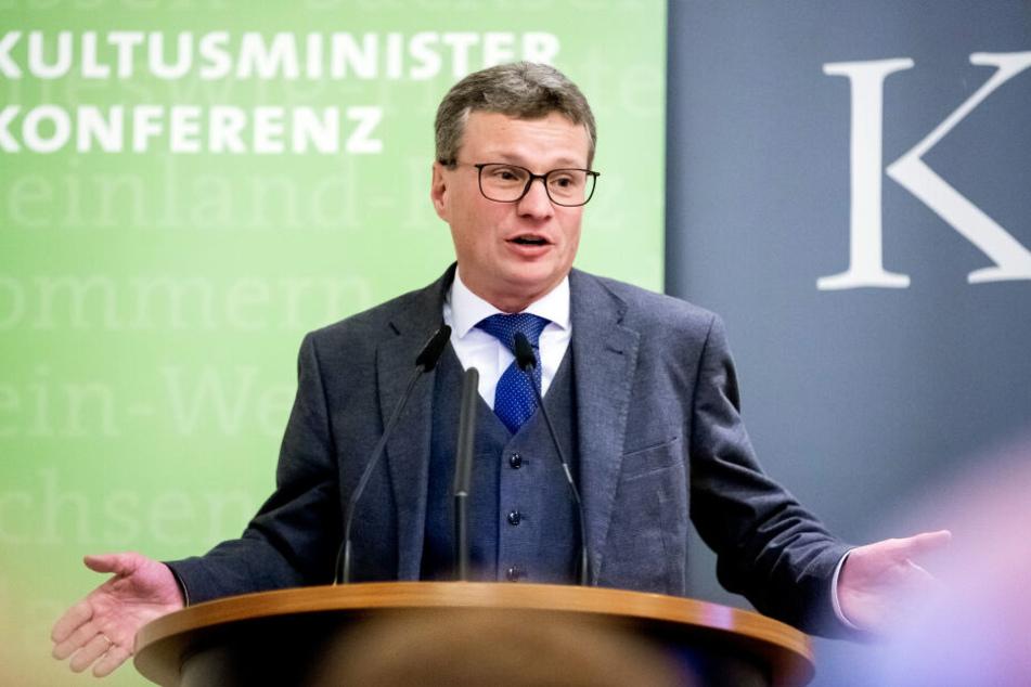 Bernd Sibler betonte die Bedeutung der Rückgabe. (Archivbild)