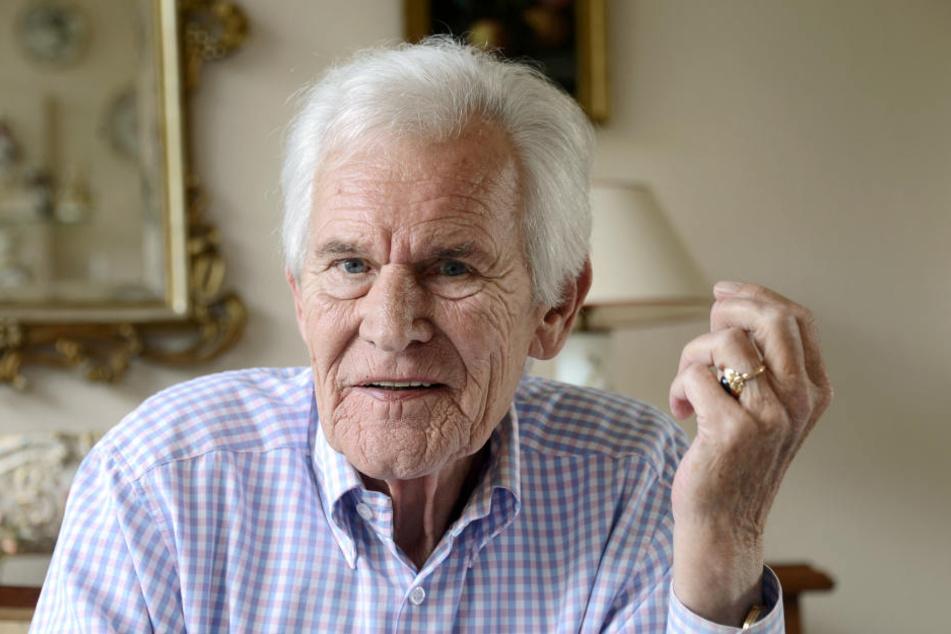 Seit einiger Zeit leidet Wieben an einer altersbedingten Augenkrankheit. (Archivbild).