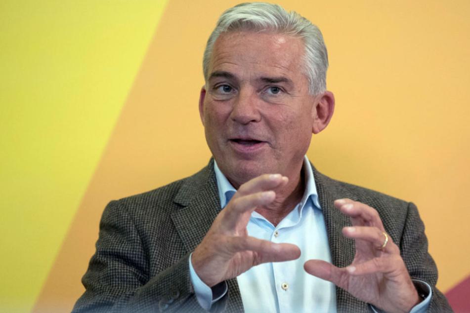 Will deutlich unter die Obergrenze von 200.000 kommen: Baden-Württembergs Innenminister Thomas Strobl (CDU).