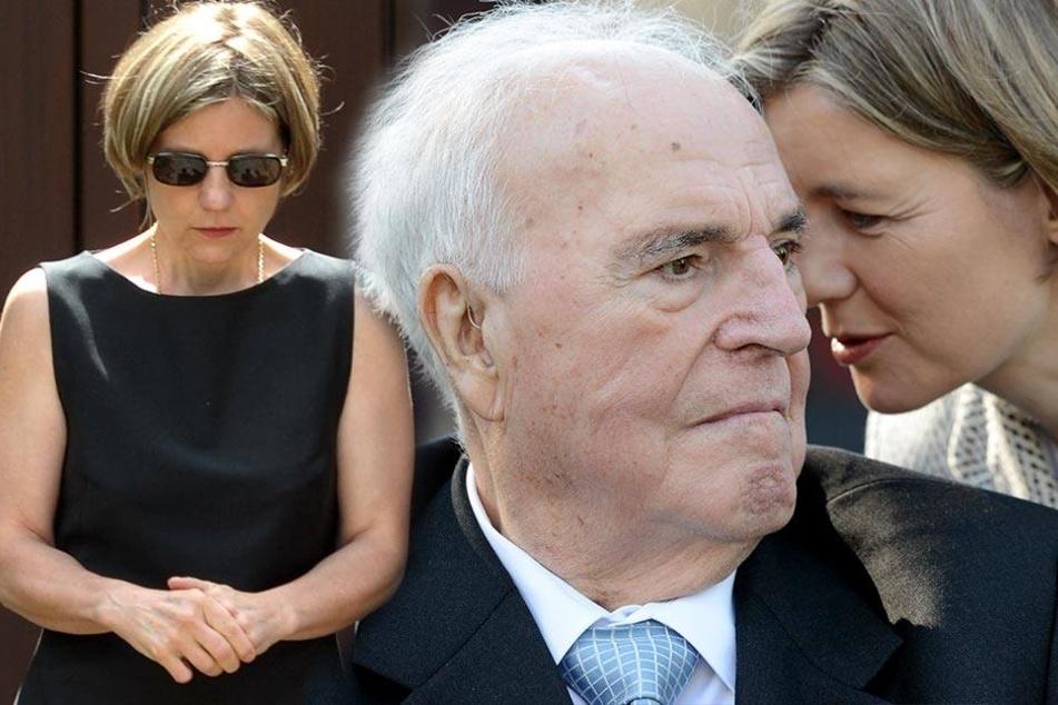 Kohl-Witwe möchte Merkel bei Trauerfeier den Mund verbieten