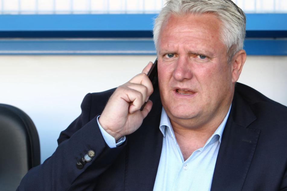 CFC-Sportdirektor Stephan Beutel will gegen Bautzen gewinnen und mit dem CFC ins Halbfinale einziehen.