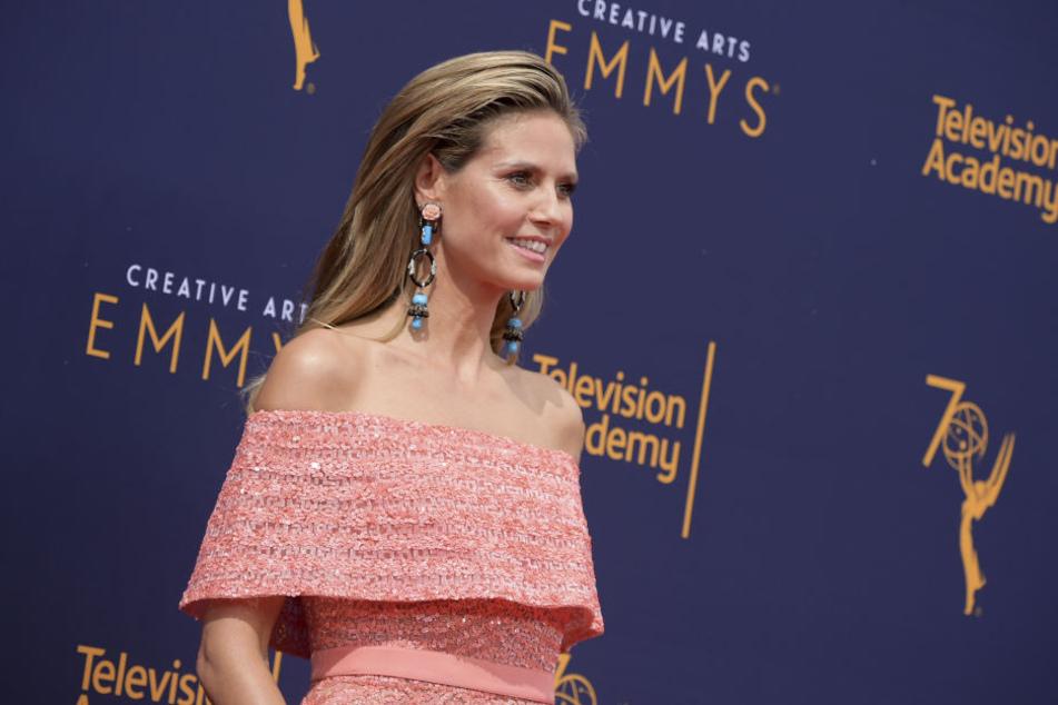 Heidi Klum (45) bei den Creative Arts Emmy Awards in Los Angeles.