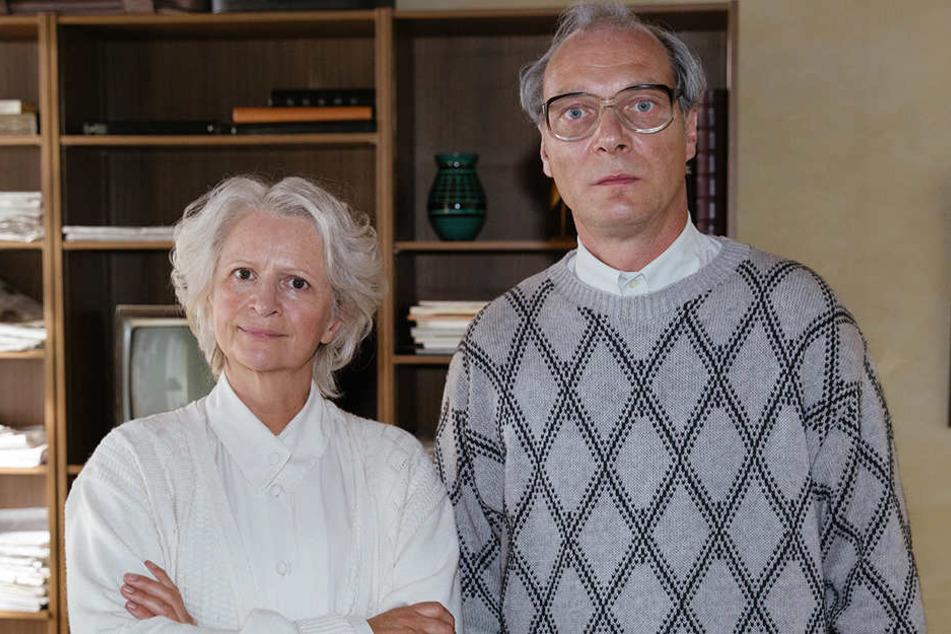 Einen ganzen Film über Margot Honecker hätte sie abgelehnt: Schauspielerin  Johanna Gastdorf. Er habe keine Sekunde gezögert: Martin Brambach.