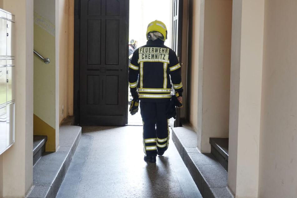 Die Feuerwehr drehte das Gas ab und prüfte die Messwerte.