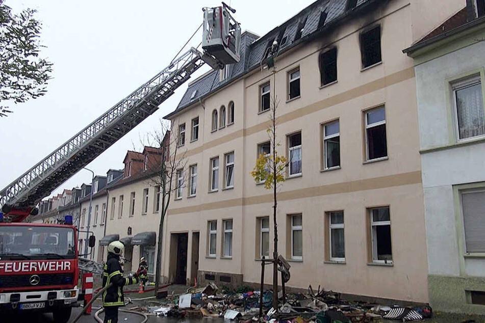 Die Auguststraße wird noch bis mindestens mittags gesperrt sein.