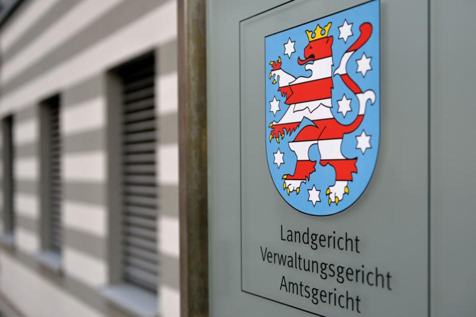 Der Fall wird im Justizzentrum Gera verhandelt.