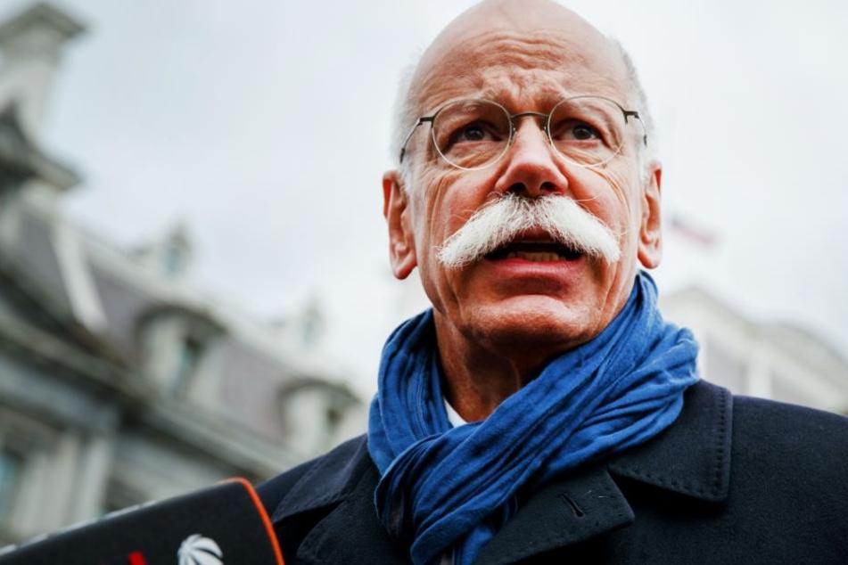 In seiner Weihnachts-Video-Botschaft sucht sich Noch-Daimler-Chef Dieter Zetsche einen neuen Job. (Symbolbild)