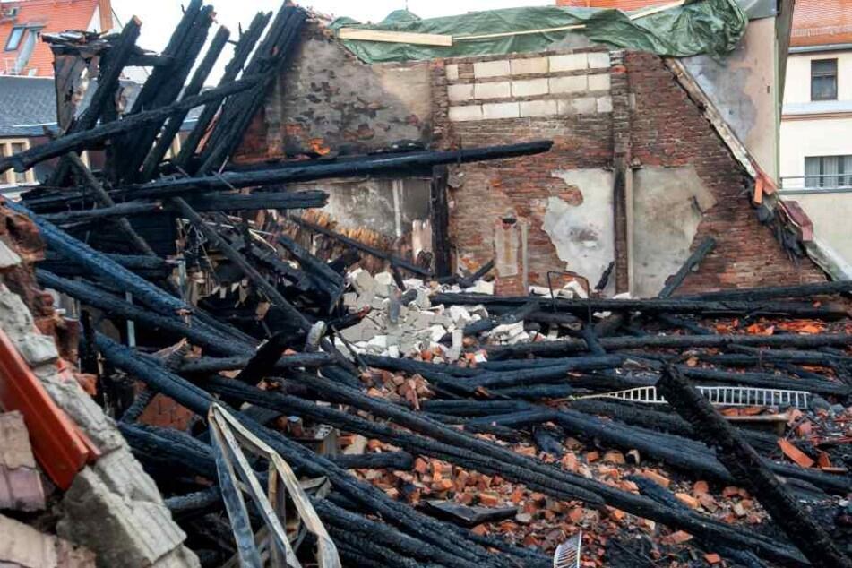Tödliches Feuer in Freiberger Altstadt: Jetzt ist klar, wie es zum Brand kam