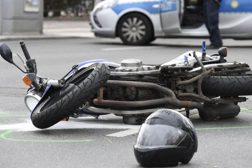Der 43-jährige Biker verstarb später in einem Berliner Krankenhaus. (Symbolbild)