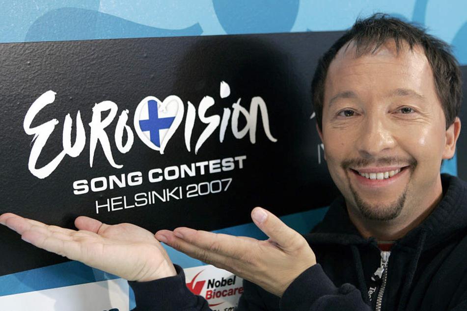 Der Musiker DJ BoBo beim Eurovision Song Contest in Helsinki. (Archivbild)