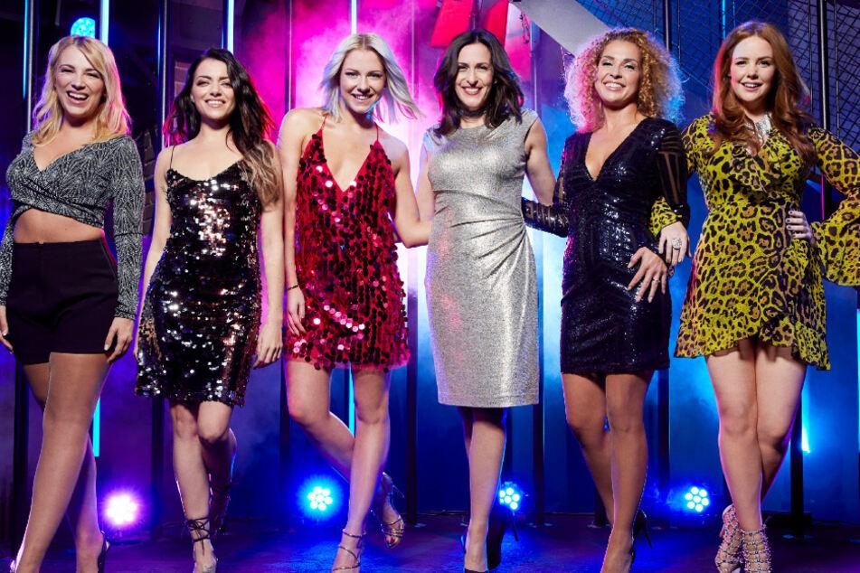 Die GZSZ-Damen unter sich: Lilly (l-r), Emily, Sunny, Katrin, Nina und Toni.