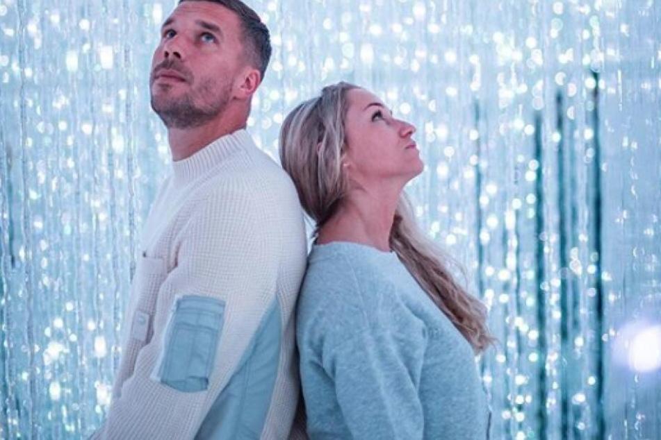 Lukas Podolski zeigt süßes Paar-Foto