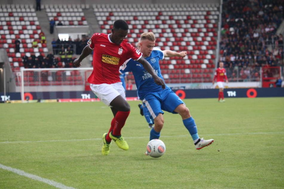 Die Thüringer Drittligisten wollen in den Nachholspielen punkten. (Archivbild)