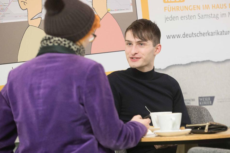 Mr. Matthew (20) stellte sich den Fragen von TAG24-Redakteurin Katrin Koch.