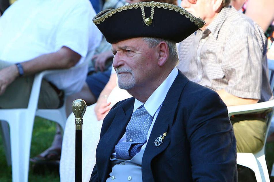 Georg Graf von Schönburg-Glauchau (75): Seine Nichte Gräfin Maya besuchte ihn oft zur Jagd in Glauchau.
