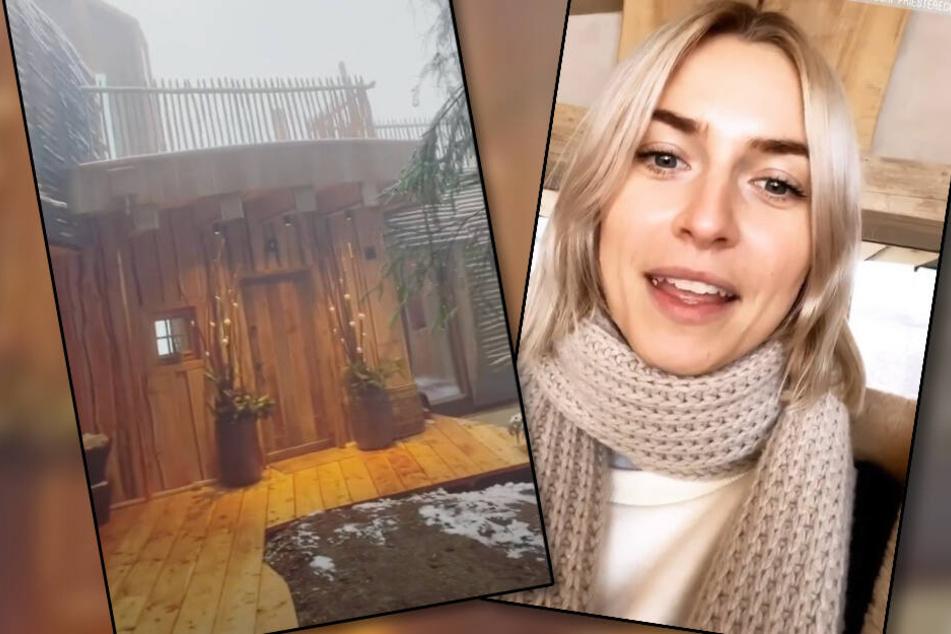 Luxus-Bergurlaub zu Weihnachten: Lena Gercke flieht in die Stille