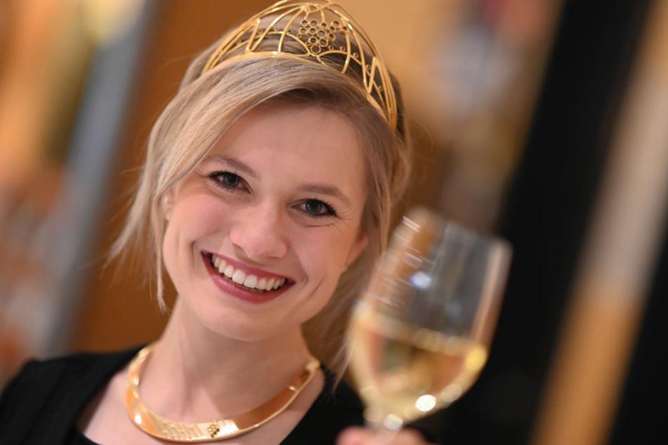 Sie ist die 70. deutsche Weinkönigin: Carolin Klöckner.