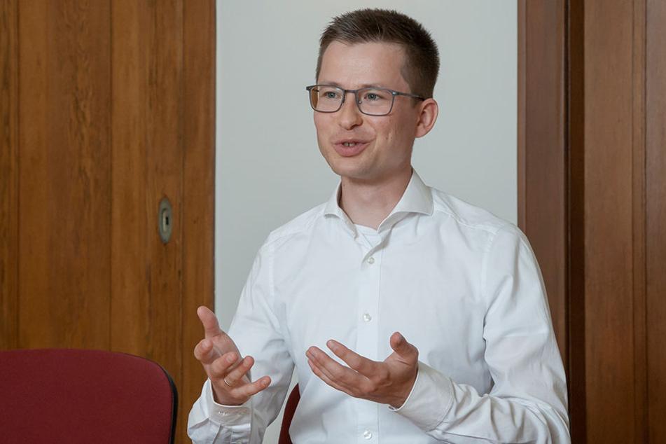 Felix Rösel vom Dresdner ifo-Institut im Interview zur Kreisreform von 2008.