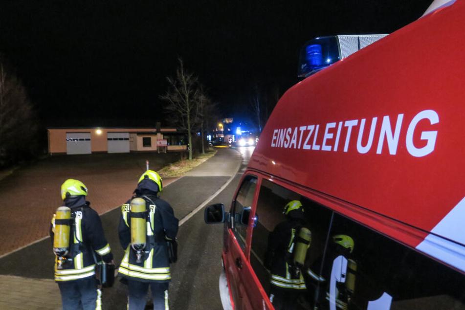 Feuerwehr, Polizei, Rettungsdienst und Stadtwerke waren im Einsatz.