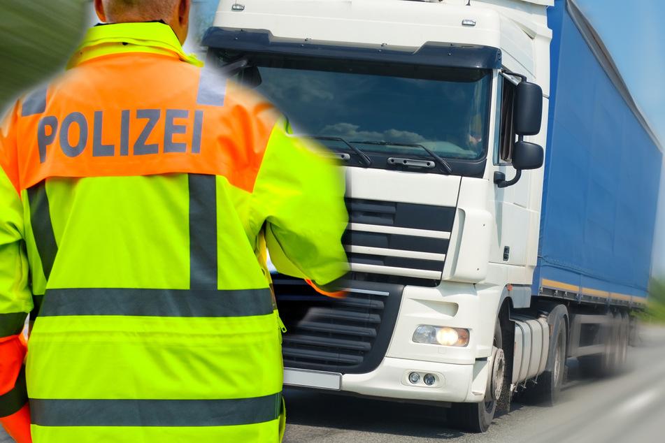 Polizei erhält Notruf von Lkw-Ladefläche: Der Grund ist besorgniserregend