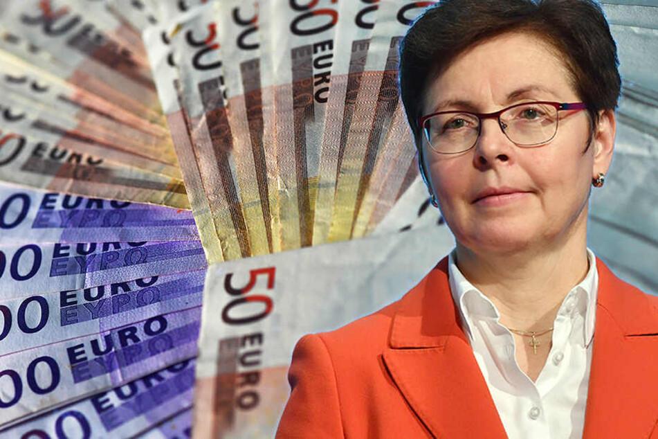 Finanzministerin Heike Taubert (SPD) hat den mittelfristigen Finanzplan für Thüringen vorgestellt, Schulden werden da nur langsam abgebaut. (Symboldbild)