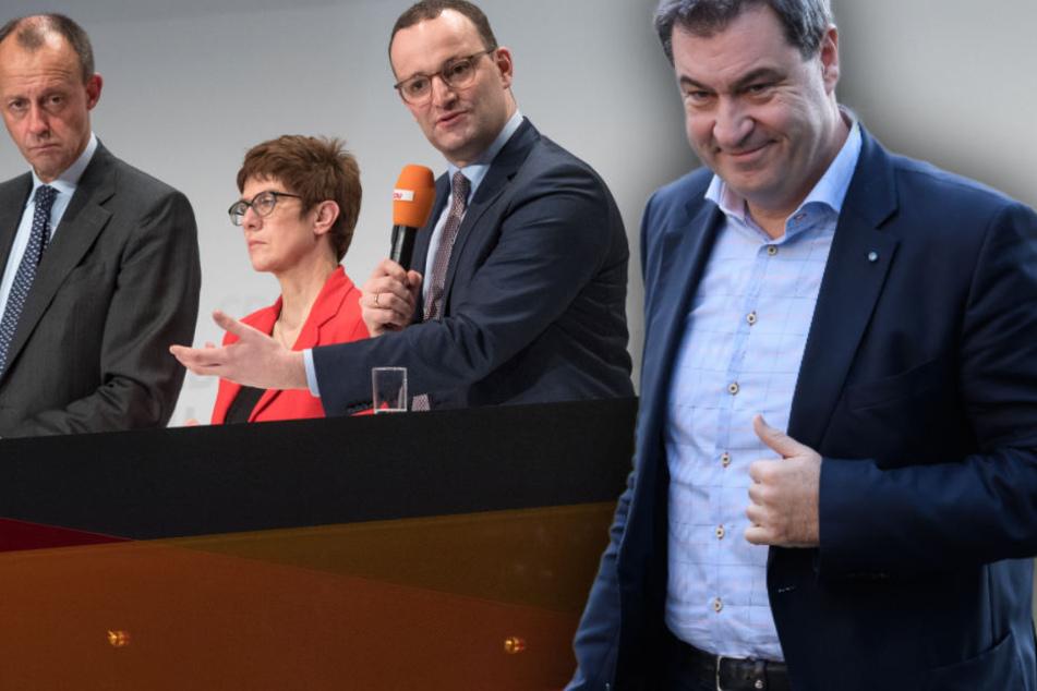 Merz, AKK, Spahn: Welcher neue CDU-Chef passt am besten zur CSU?
