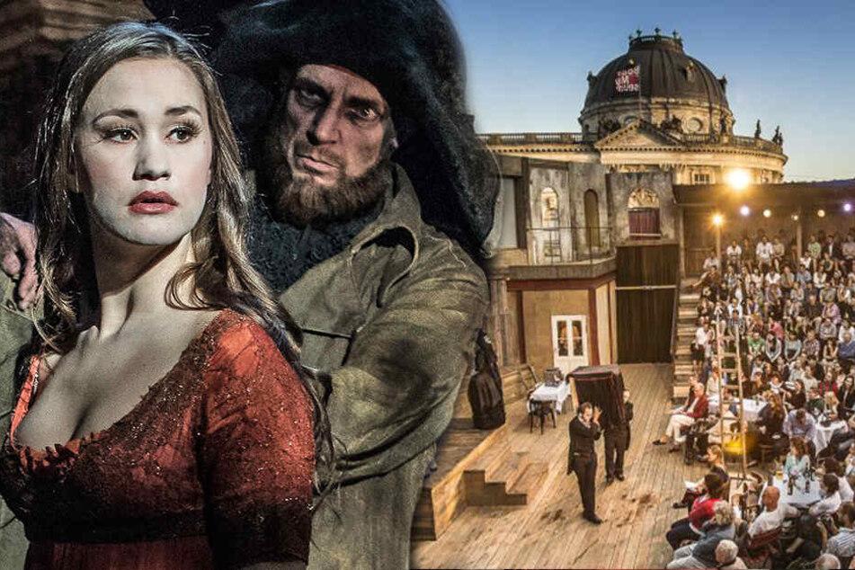 Unschlagbares Duo: Schiller und Goethe im Monbijou-Theater